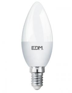 Bombilla Vela LED 5W e14 (luz fría o cálida) EDM
