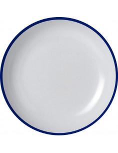 Prato de refeição 25 Ø Brunner melamina