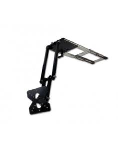 Soporte de tv extensible con 2 brazos de posición Gestek