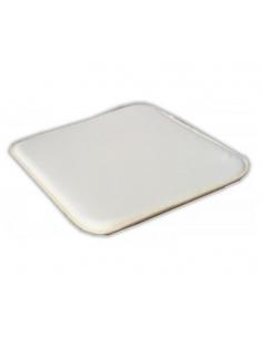 Quadratisches Kissen 40x40 2,5 cm beige