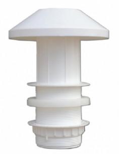 Extracteur aérateur extérieur en plastique 60 mm