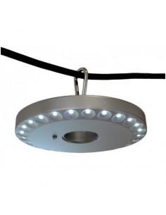 Camping 48 LED lâmpada de pára-sol a bateria