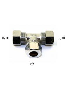 Te gas reductor hermeto 6/8 a 8/10 y 8/10