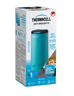 Difusor anti mosquito de exterior Thermacell Turquoise