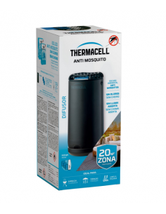 Difusor anti-mosquito para exterior Thermacell preto