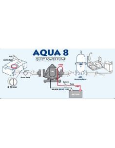 Bomba de agua 10l con presostato aqua 8 a 12 voltios for Presostato bomba agua
