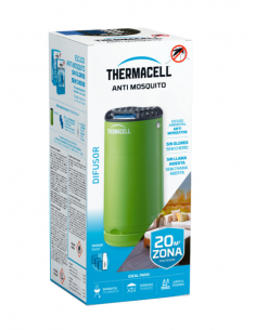 Difusor anti-mosquito verde Thermacell para ambiente externo