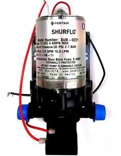 Bomba de água automática Shurflo de 10,6 litros