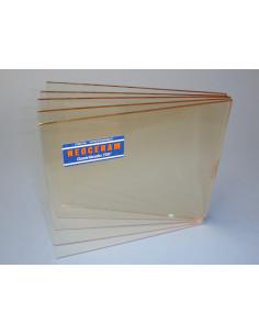 Cristal  Vitrocerámico Neoceram para fuego de estufa pellets o estufa leña