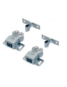 Retenedor de aluminio para puertas x2