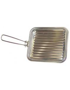 Parrilla tostador con mango Metaltex