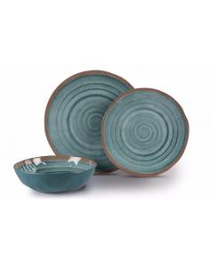 Louça de melamina 12 artesãos Terracotta Dometic