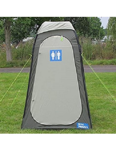 Magasin polyvalent avec logo WC Kampa