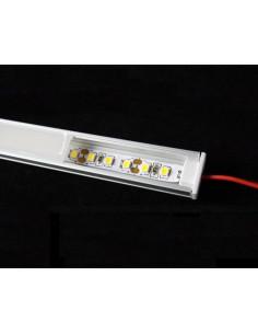 Bande LED ou bande Led profilé plat en aluminium de 50 cm