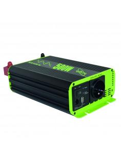 Inversor Convertidor y panel de control  Elektron Sinus de línea pura 500 W