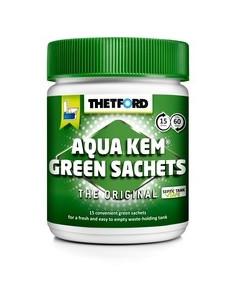 Thetford Aqua Kem Green Sachets 15 bolsistas ecológicas