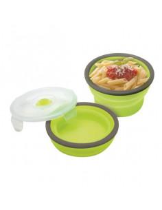 Porta alimentos Jatta de silicona plegable