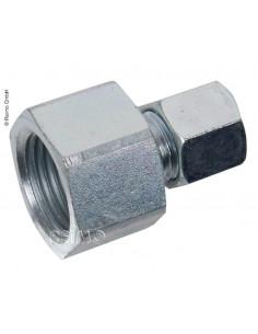 Conexión gas rosca 1/2 a hermeto 8mm