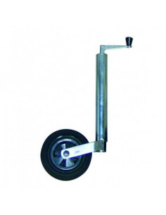 Support télescopique de roue jockey 200x48mm