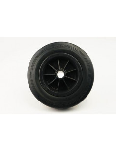 Roda de borracha para mastro jockey 250x50mm