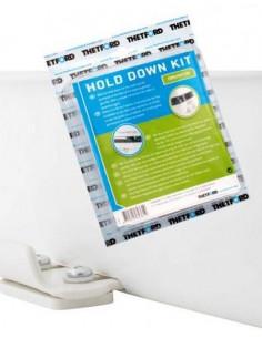 Kit de fijacion de inodoros portátiles Thetford Porta Potti PP Qube 165/365