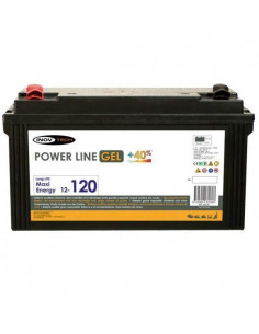 Bateria Auxiliar Gel 120A Electron
