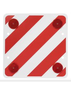 Panel o señal V20 de carga saliente reflectante 50x50. Acrilico