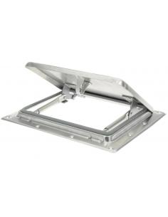 Mini claraboya extra plana de aluminio 26`5 x 21 cm