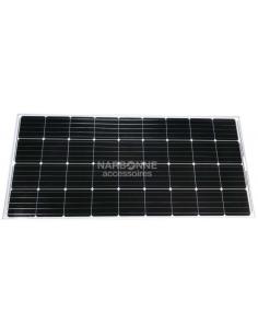 Panel solar 110W Flat Inovtech con regulador solar y pasacable