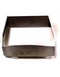 Deflector de brasero inox para insertable 78/68 Estufa pellet piazzetta