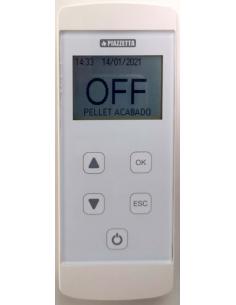 Mando a distancia o telecomando GRF para estufas pellets Piazzetta