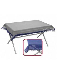 Toalha de mesa exterior PVC 145x102 cm