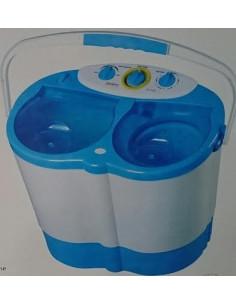 Tragbare Waschmaschine Alpina Zentrifuge 3,5 Kilo für Camping
