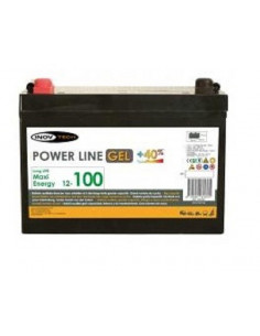 Bateria Auxiliar Gel 100A Power Line