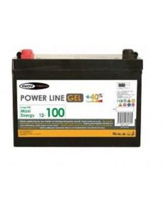 Batterie auxiliaire gel 100A Power Line Elektron