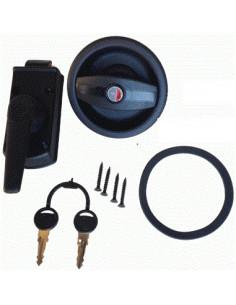 Sicherheitsschloss-Farbe schwarz