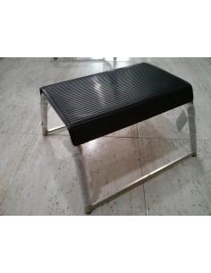 Peldaño simple en aluminio