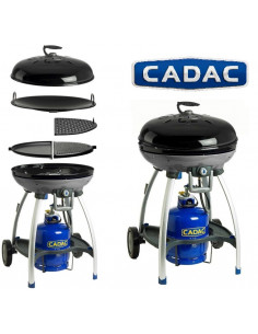 Barbacoa de gas cadac leisure chef tienda de camping online - Barbacoa de gas ...
