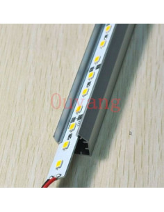 Led streifen 50 cm aluminium profil (smd5630 chip maximale helligkeit)