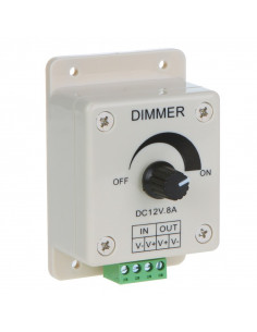 Regulador de luminosidad dimmer para tira de led