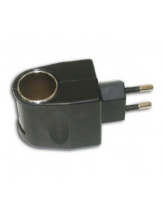 Alimentador enchufe a mechero 12v. 500mA