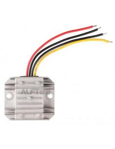 Convertidor de 24v. a 12v con disipador aluminio (5A de salida)