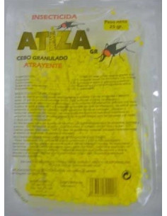 Atiz insecticida granulado 25 gr, para moscas
