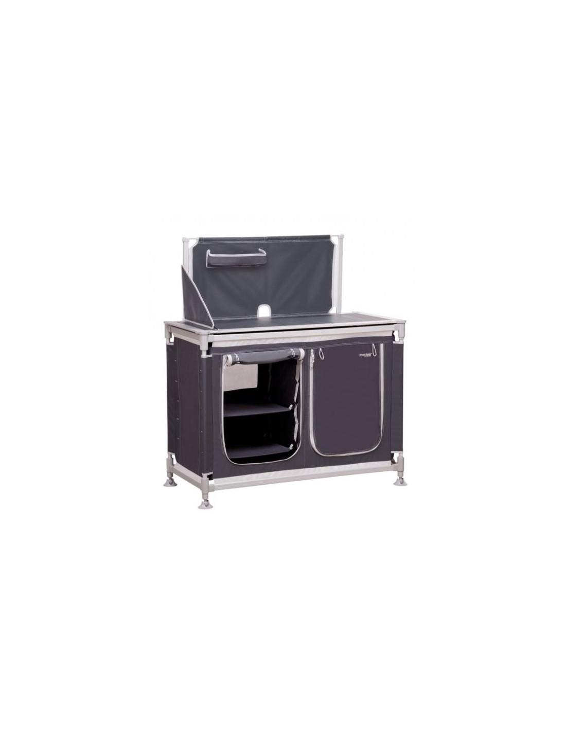 Mueble cocina alta calidad aluminio westfield 4 estantes for Mueble cocina camping