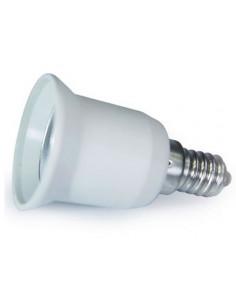 Adaptador conversor para lâmpadas E27 a E14