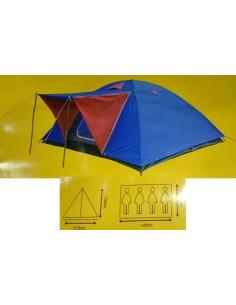 Tienda de campaña iglu 4 personas (215x245x130cm)