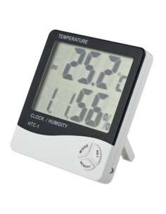 Termómetro digital con higrometro