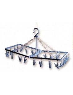 Brunner 24 clothespin varal