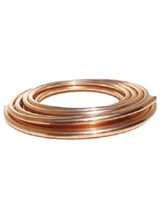 Tubo Cobre Flexible Gas 8mm (6/8mm) para caravanas