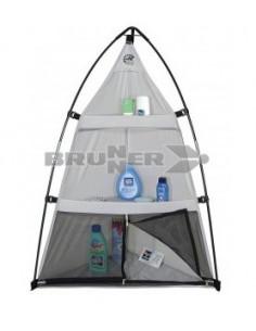 Organizador de 3 níveis para a barraca de camping Brunner